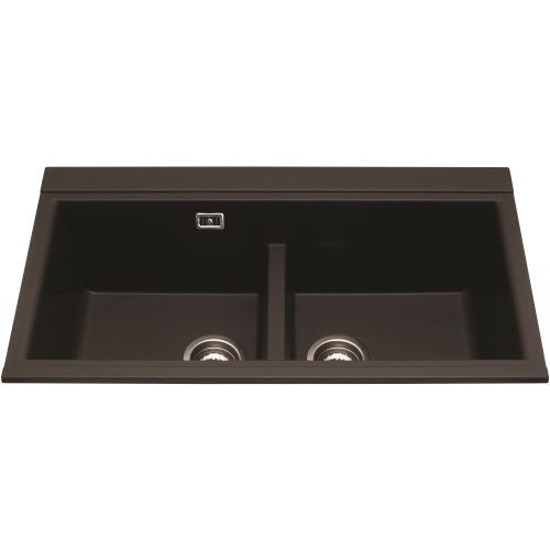 CDA KG80BL KG80 Composite 2.0 Bowl Sink Black