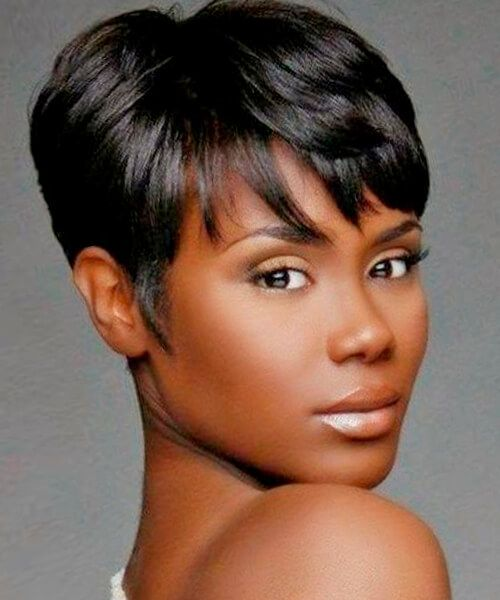 Short Hairstyles For African American Women 17 best short hairstyles for african american women Cropped Short Hairstyle For African American Women More