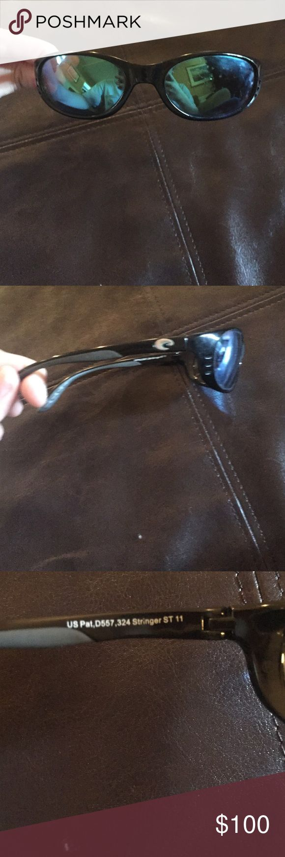 Costa Del Mar sunglasses Great condition! Got new ones for Christmas so I have no use for them anymore! Costa Del Mar Accessories Sunglasses