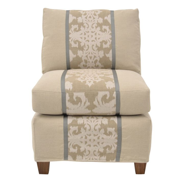 Quatrine Furniture   Harlow Slipcovered Chair