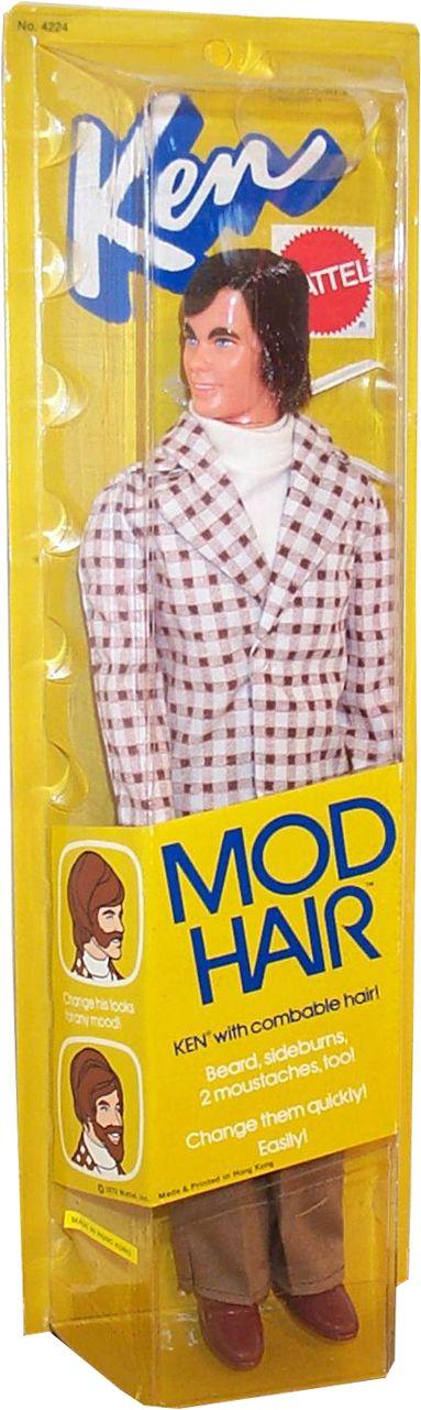 *1973 Mod hair Ken doll 3 #4224