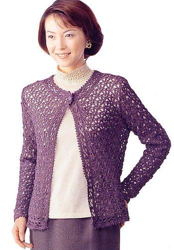 17 Best images about knit/crochet tops -- women on Pinterest