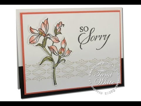 Stampin up quot so sorry quot on pinterest sympathy cards stampin up and