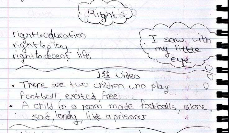 Children have the right to...