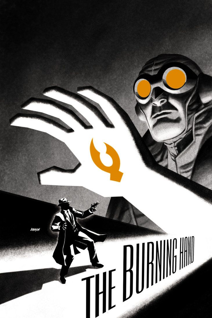 Lobster Johnson No. 1 cover by `Devilpig
