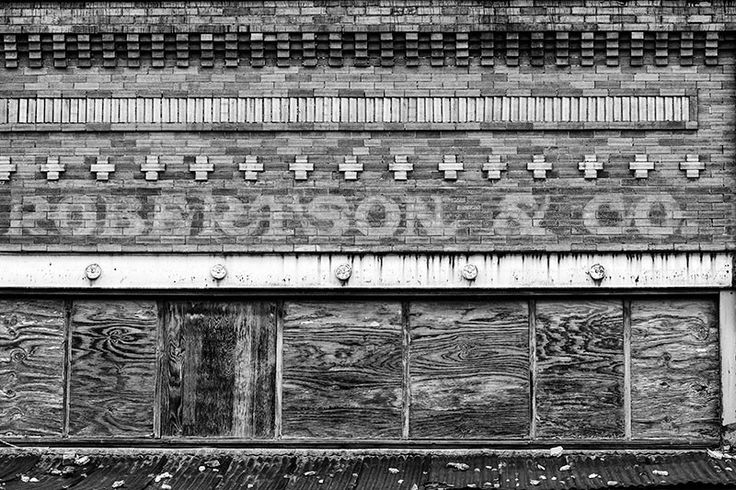 Adams, Tennessee - Robertson and Co Storefront Sign (RQ0A5250)