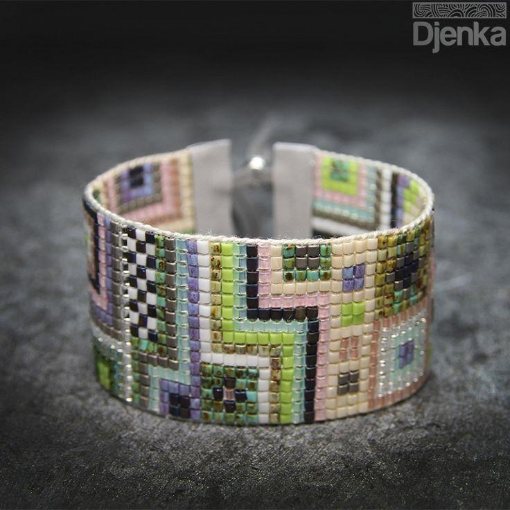 Bransoletka etniczna - beading - Espoo - Djenka