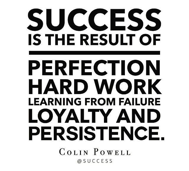 tnbtheories:  Success isn't an easy street.