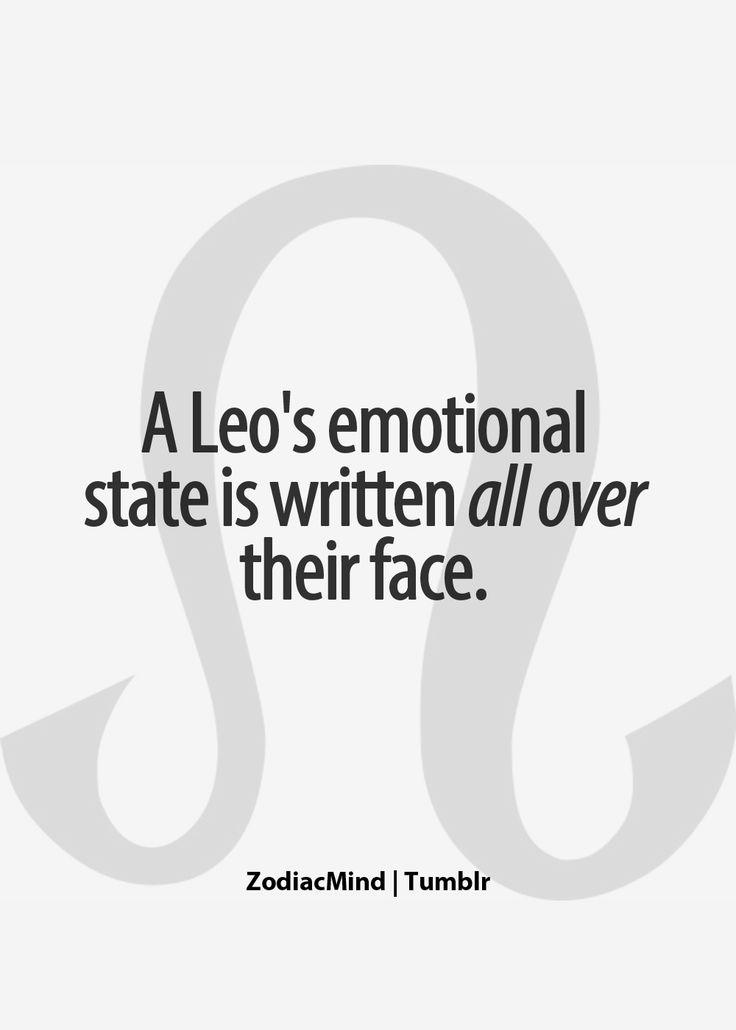 Leo poker face