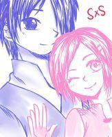 Sasuke N Sakura The last by ZANNA-Nezuko