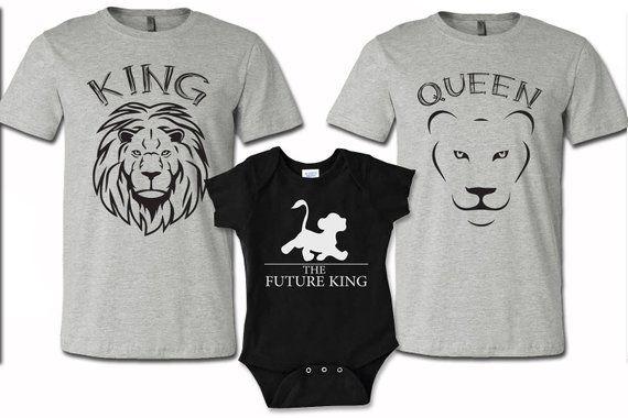 933c16116d6b6 Set de 3 camisetas de la familia papá mamá y bebé camisas