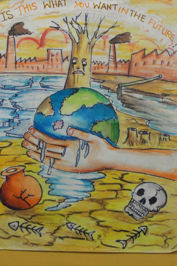 Kids climate change posters google search re children for How to come up with painting ideas