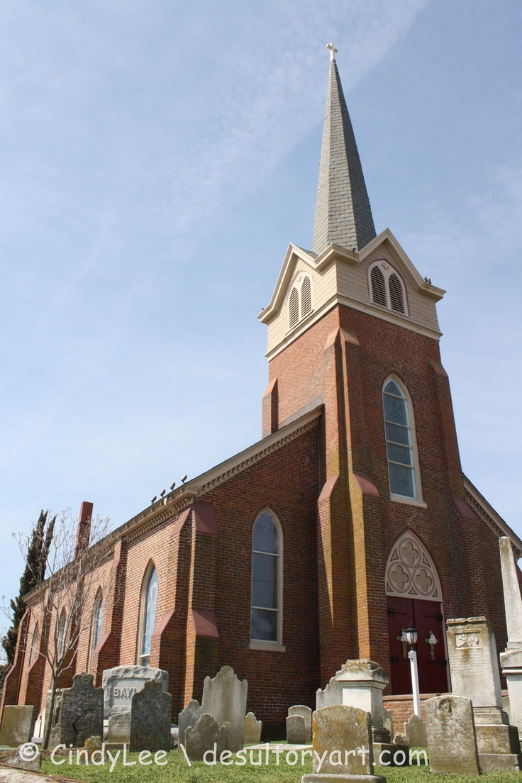 Historic Church in Lewes Delaware