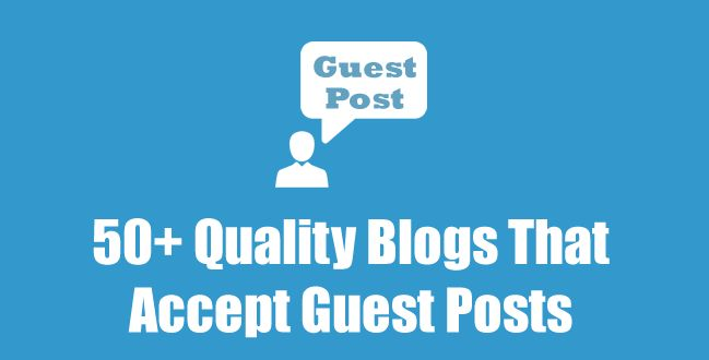 You must have heard about the #guest #post. It is one of the important ways to attract visitors. If you are lagging behind with #traffic in your website, guest post will be a great mechanism to resolve this issue. The guest posting #sites can give you a concrete idea about the appropriate #content. Sometimes getting an acceptance in guest post is really tough.