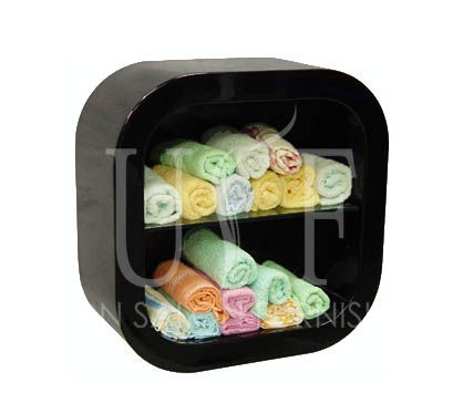 Arrange towels of your salon neatly with USF towel rack.