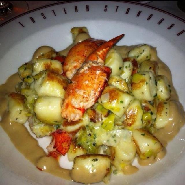 Lobster gnocchi at Eastern Standard Boston - Friday night special.