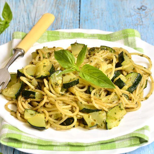 Pasta alle zucchine (pâtes aux courgettes)