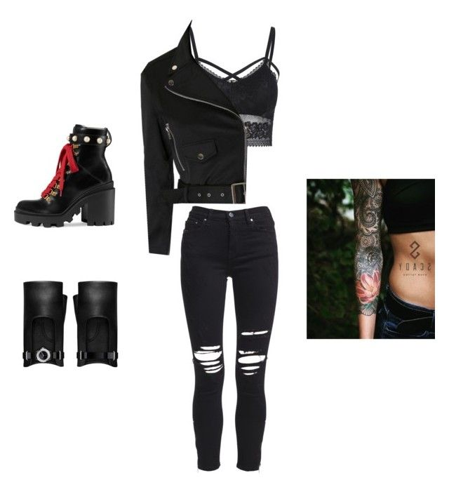 """""""badass"""" by biudinca on Polyvore featuring AMIRI, Gucci and Chanel"""