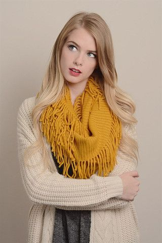 Ribbed Infinity Scarf - Multiple Options – beautique