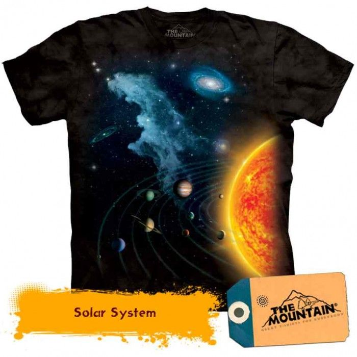 Tricouri The Mountain – Tricou Solar System