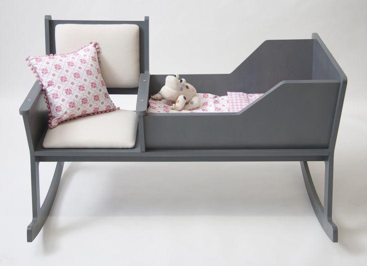 Berceau modulable avec chaise à bascule