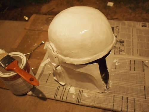 How to make a boba fett helmet from scratch