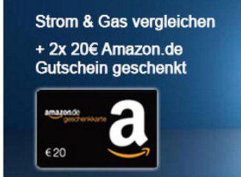 Gratis: Amazon-Gutschein über 20 Euro zum neuen Strom- und Gasvertrag https://www.discountfan.de/artikel/technik_und_haushalt/gratis-amazon-gutschein-ueber-20-euro-zum-neuen-strom-und-gasvertrag.php Wer jetzt den Stromanbieter wechselt, kann nicht nur mehrere hundert Euro im Jahr sparen – es gibt obendrein für Discountfans auch noch einen Amazon.de-Gutschein über 20 Euro. Wir verraten alle Details zum neuen Bonus-Angebot. Gratis: Amazon-Gutschein über 20 Euro zum