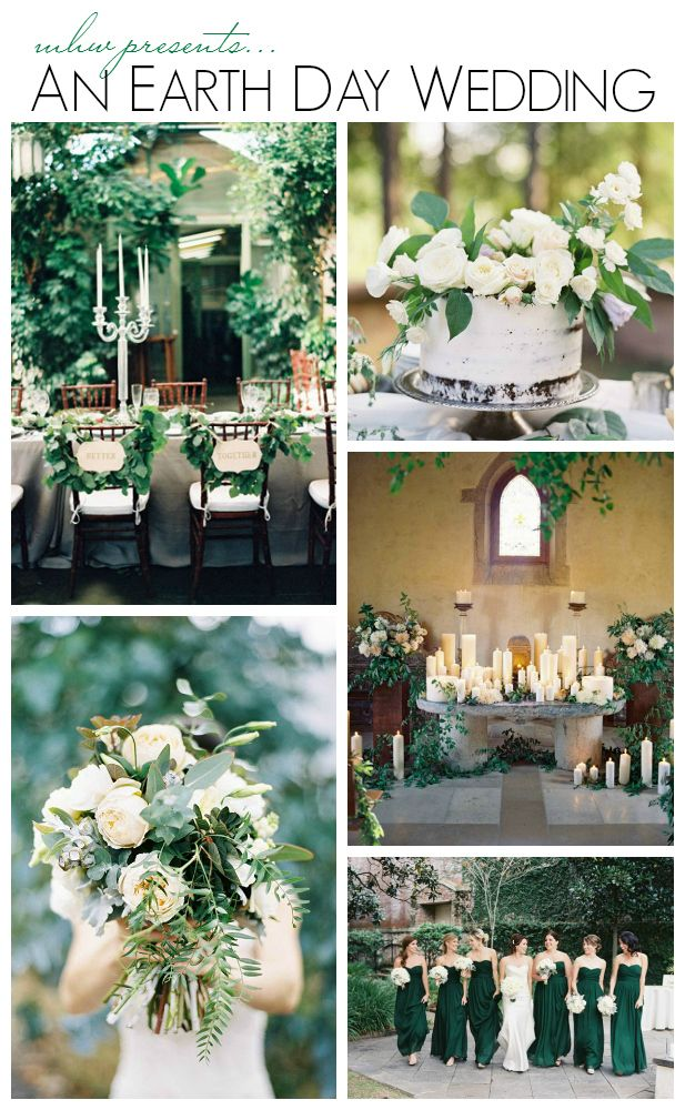Earth day wedding ideas
