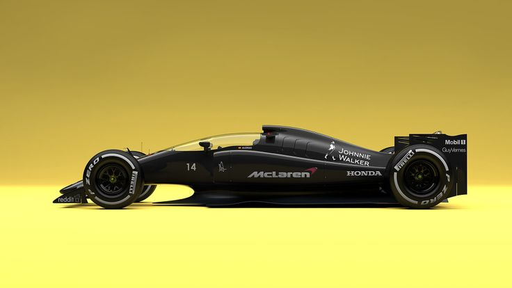 What F1 Cars Would Look Like if F1 Got Its Act Together | Dutch designer Andries van Overbeeke shows a new spin on F1 cars, with changes like closed cockpits. | Credit: Andries van Overbeeke | From Wired.com