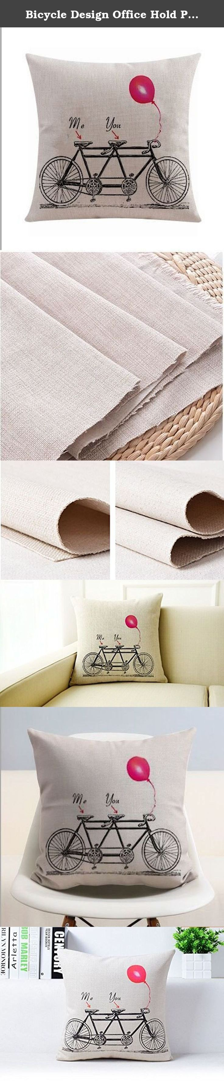 Bicycle Design Office Hold Pillow Cases Do Not Contain Core Set of Cushion for Leaning on Home Textile Products (B). Product does not contain Pillow. Cleaning can be removed. Comfortable cotton fabrics. Application: seats, bedding, pillow cushion. Large quantities of orders, custom.