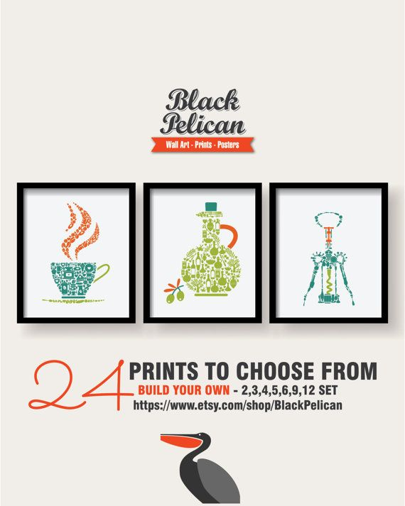 241 best posters, prints, wall art, typography, kitchen poster