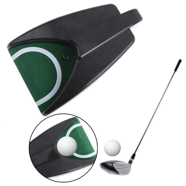 NEUE Kunststoff Golf Auto Return System Putt Golf Schulungsgolfball Kick Zurück Automatische Rückkehr Putting Cup Gerät 27*17*5,5 cm