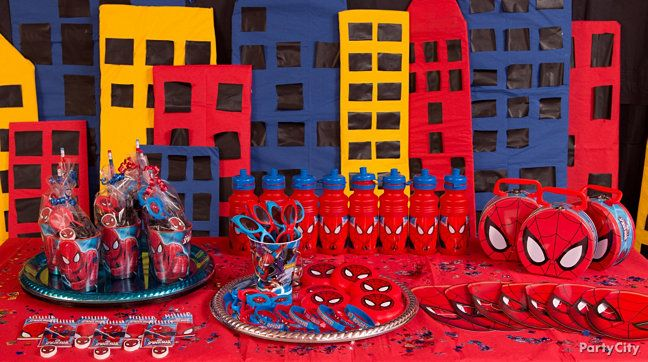 17 Best images about Spiderman party on Pinterest