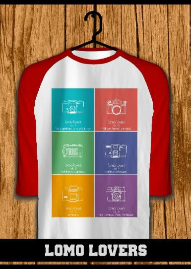 ourkios - Lomo Lovers Red Raglan