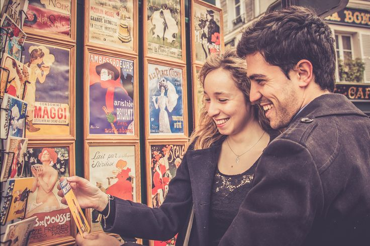 Montmartre in love with Giuseppe & Marion  - WESHOOT Paris Photo Session