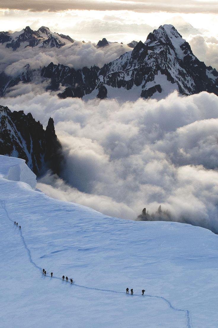 French Alps | Asmus Nørreslet, see: https://500px.com/photo/74992951/col-de-la-brenva-by-asmus-n%C3%B8rreslet for larger image.