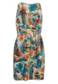 Dafiti Mercatto Vestido Mercatto Guia Multicolors R$99 por R$74,90 M