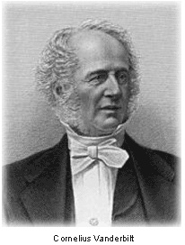 a biography of the life of cornelius vanderbilt Cornelius vanderbilt: early life and education and live a gentlemanly life of leisure instead, young cornelius set out to cornelius vanderbilt biography.