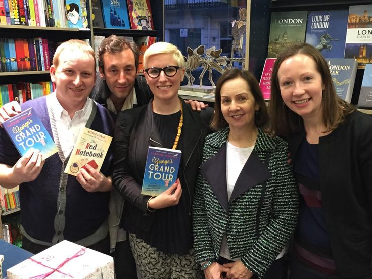 A wonderful evening at Belgravia Books on 30 Apr