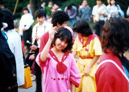 ファッションの街、原宿 「竹の子族」の最盛期