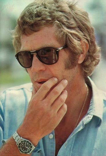 STEVE MCQUEEN EARLY 70'S - boys, don't tell me you're a bit influenced by him.