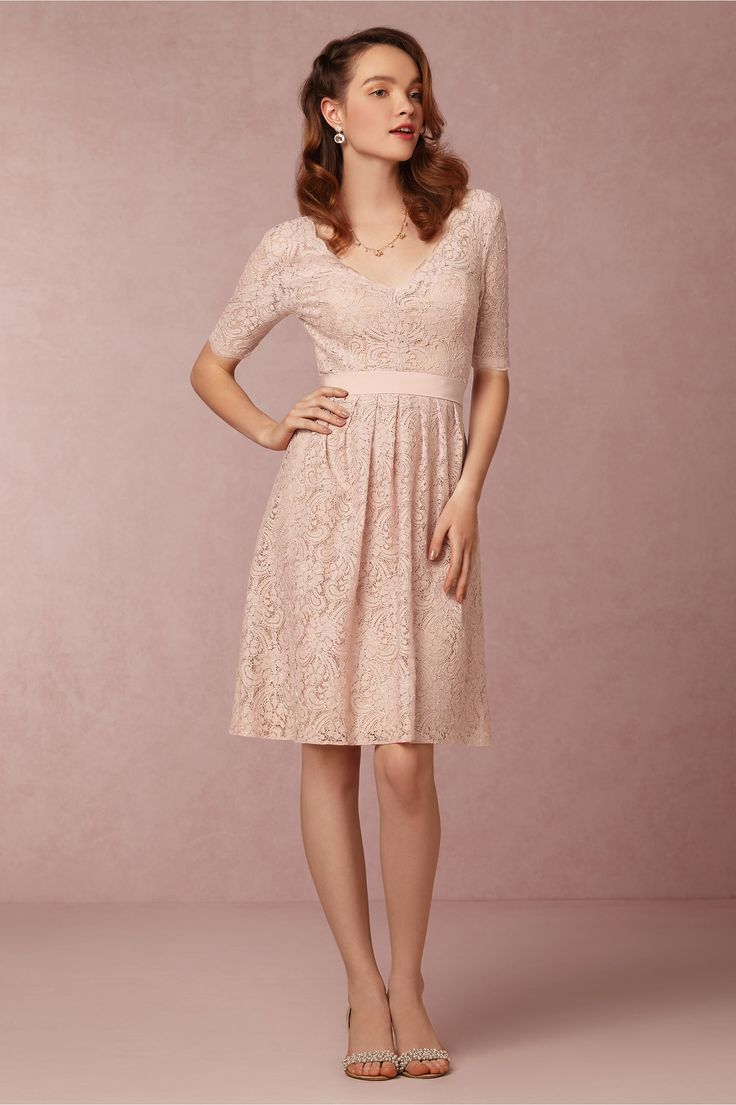 Baker by ted baker babies light pink meshed rose dress debenhams - Catania Dress From Bhldn