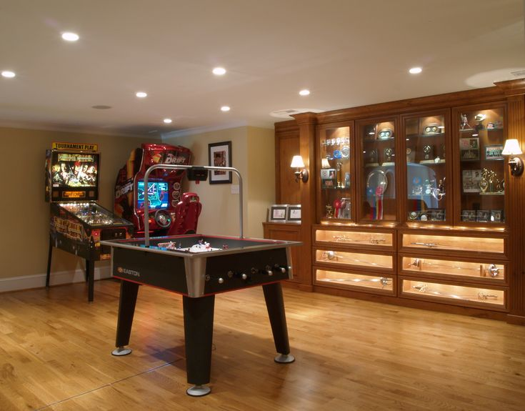 20 best awesome finished basement game rooms! images on pinterest