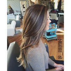 http://epochchicago.com - dark hair, bayalage - LOVE THIS!
