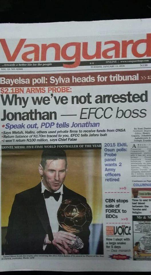 Dmegy's Blog: UPDATES: Nigerian Newspapers' Headlines Today ( RE...