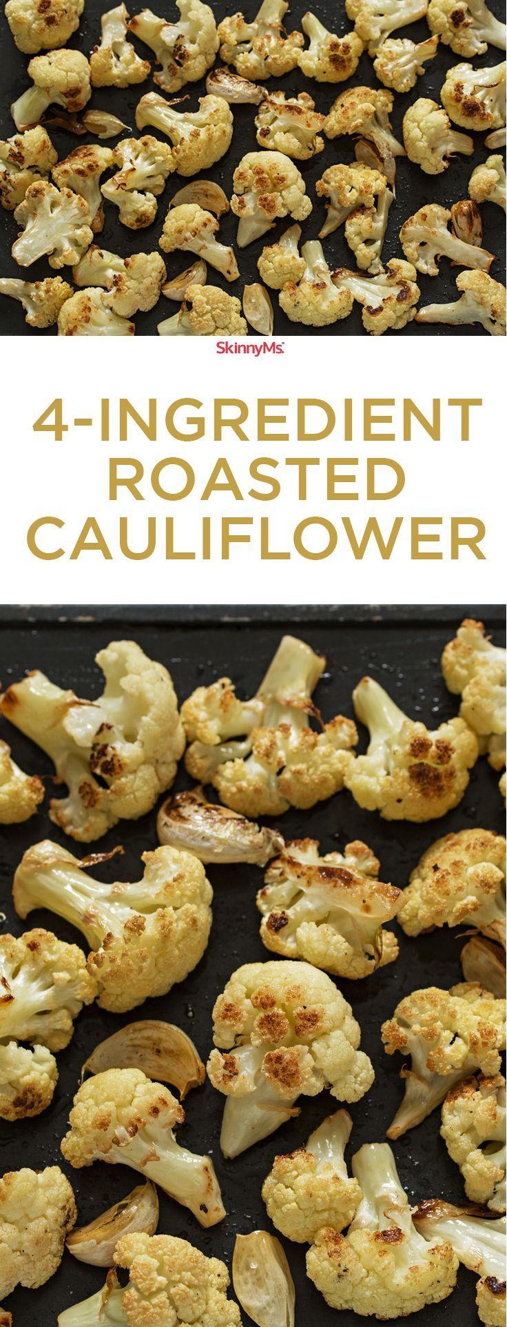 4-Ingredient Roasted Cauliflower