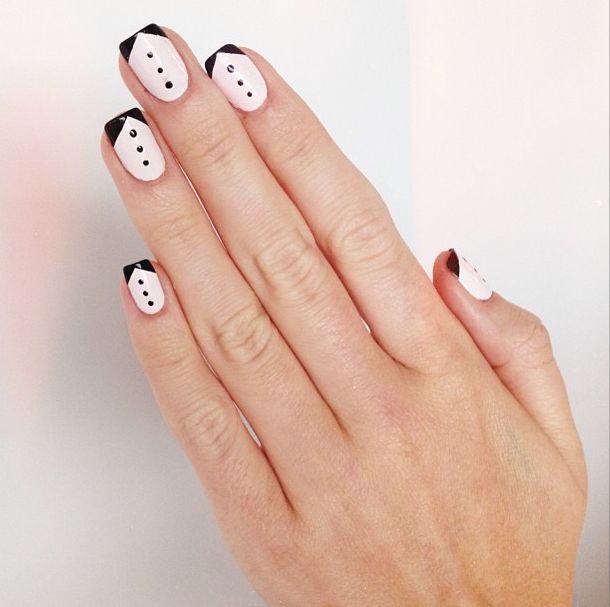 32 best Black and White Nail Designs images on Pinterest | Nail ...