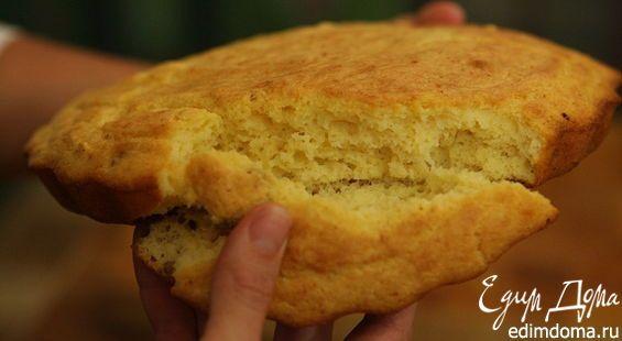 Кукурузный хлеб на сале
