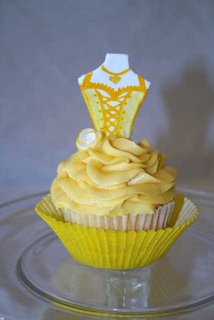 Princess cupcake - Belle