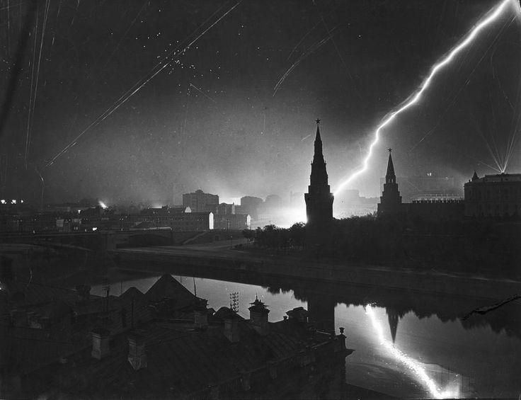 German air raid on Moscow July 26 1941